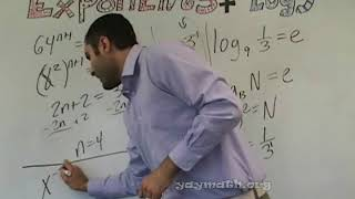 Algebra 2 – Exponents And Logs And Equations And Graphing (chapter Review 1 Of 2 )