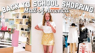 Back To School Clothes Shopping 2020! (Mall Of America) | Abby Urban