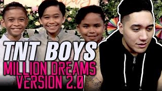 TNT Boys | A Million Dreams Version 2.0 (with Story Line) REACTION!!!