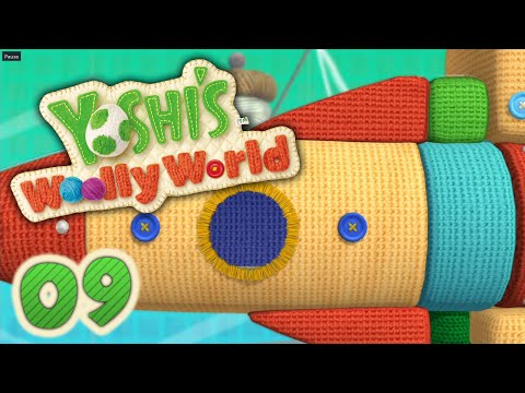 Mobile-Raketen und Wollschal-Kletterei! | #09 | Yoshi's Woolly World