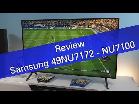 Samsung 49NU7172 NU7100 UHD TV review