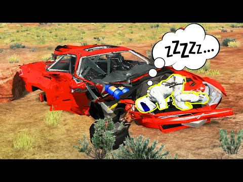 BeamNG Drive   Unlucky drivers #2 BeamNG Crashes