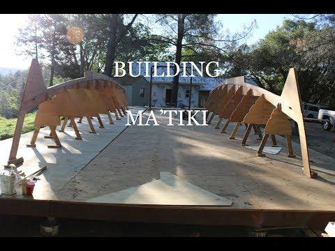, title : 'E5 Keels and Bulkheads, building a catamaran