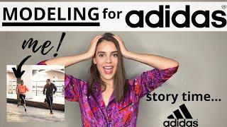 I Modeled for ADIDAS!   Here's what happened   2019   Vlogmas #15