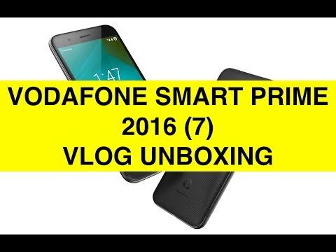 Unboxing Vodafone Smart Prime 2016 (Smart Prime 7) ITA