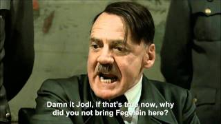 Hitler is informed Fegelein has been found