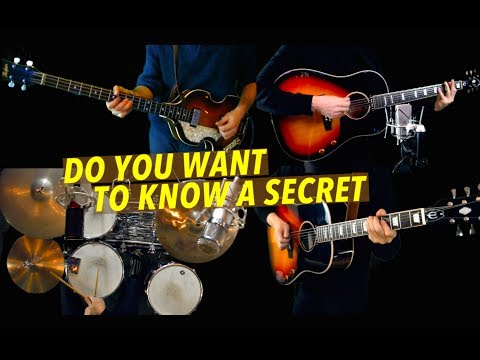 Do You Want To Know A Secret - Guitar, Bass and Drums - Instrumental Cover