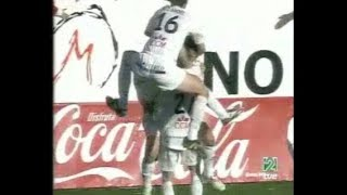 Albacete 1 - Betis 0. Temp. 03/04. Jor. 27.