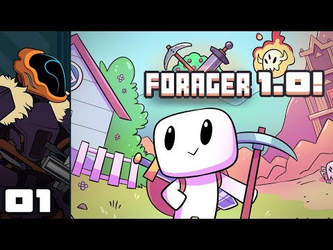 Let's Play Forager [1.0] - PC Gameplay Part 1 - Here We Go Again!