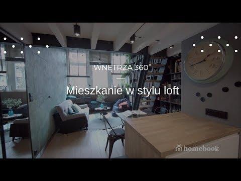 Mieszkanie w Krakowie w stylu loft ❤😍