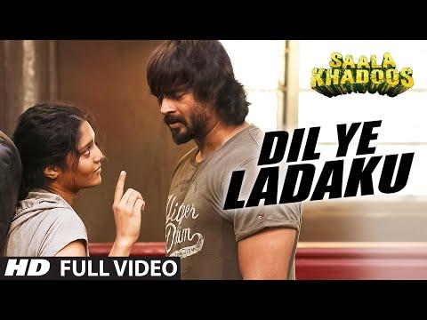 DIL YE LADAKU Full Video Song   SAALA KHADOOS   R. Madhavan, Ritika Singh   T-Series