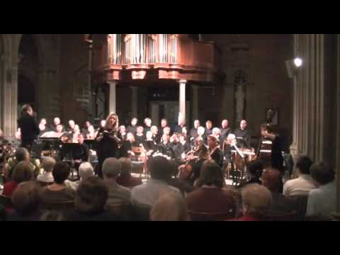 Mozart 'Exsultate, Jubilate' performed with Trinity Chamber Choir and Orchestra, 2013.