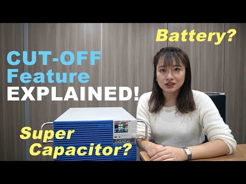 Video of Cut-off Feature For Battery Discharge Testing