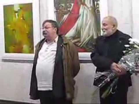 Виставка Юрія Гуменного (Миколаїв, 2013) - YouTube