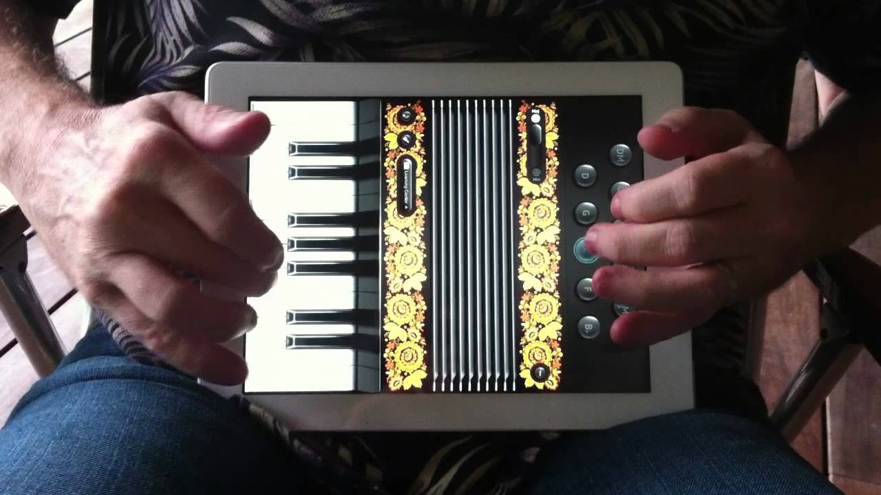'Weird' Al Yankovic Embraces The Digital Age With iPadccordion
