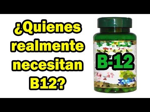 ¿Quienes realmente necesitan Vitamina B12?