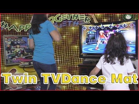 WOLSEN Dual Playing TV Dance Mat ReView and Setup