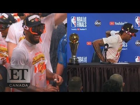 Kawhi Leonard Dances After Finals Win, Forgets MVP Trophy