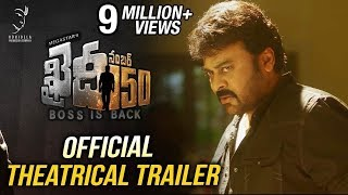 Khaidi No 150 Official Theatrical Trailer  Mega Star Chiranjeevi  V V Vinayak  DSP