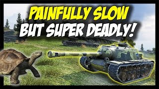 ► World of Tanks: Painfully Slow, But Super Deadly! - T95 and T110E3