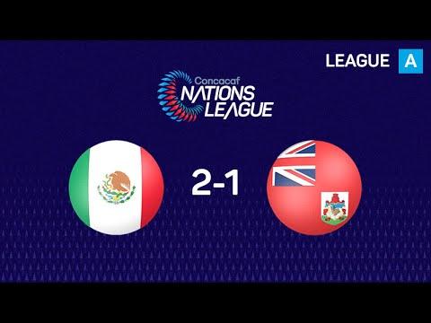 Мексика - Бермудские острова 2:1. Видеообзор матча 20.11.2019. Видео голов и опасных моментов игры