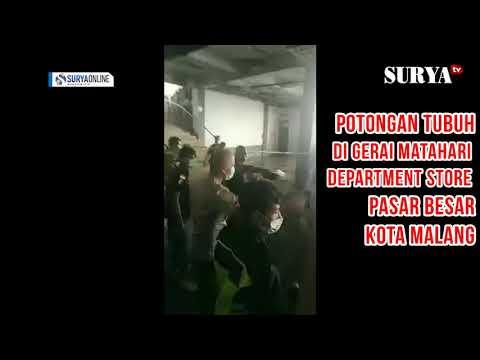 MISTERI POTONGAN TUBUH DI GERAI MATAHARI PASAR BESAR KOTA MALANG
