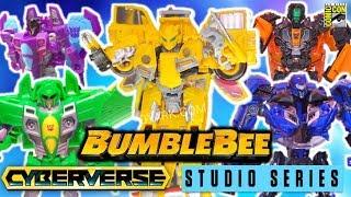 Bumblebee Movie, Cyberverse & Studios Series TOYS - Transformers San Diego Comicon 2018 (Highlights)