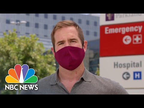 Texas To Open Four More Coronavirus Testing Sites In The Dallas Area | NBC News NOW