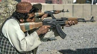 Afghan Police  AK47 Type Rifle Class Live Fire
