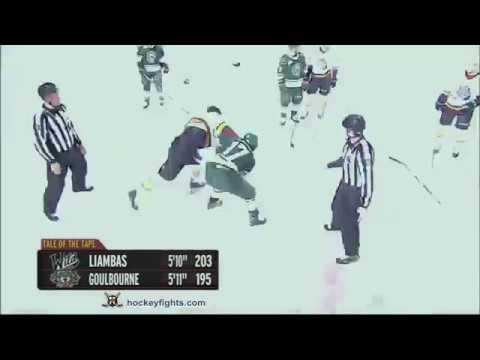 Tyrell Goulbourne vs. Mike Liambas