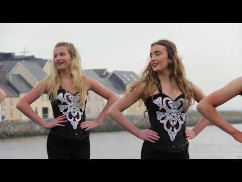 Ed's Galway Girls - Irish Dancers Featured in the Official 'Galway Girl' Video! (видео)