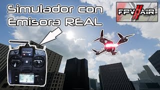 FPV AIR 2 - Simulador de drones de carreras - Volando edificios - EMISORA REAL