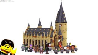 LEGO Harry Potter 2018 Hogwarts Great Hall set review! 75954