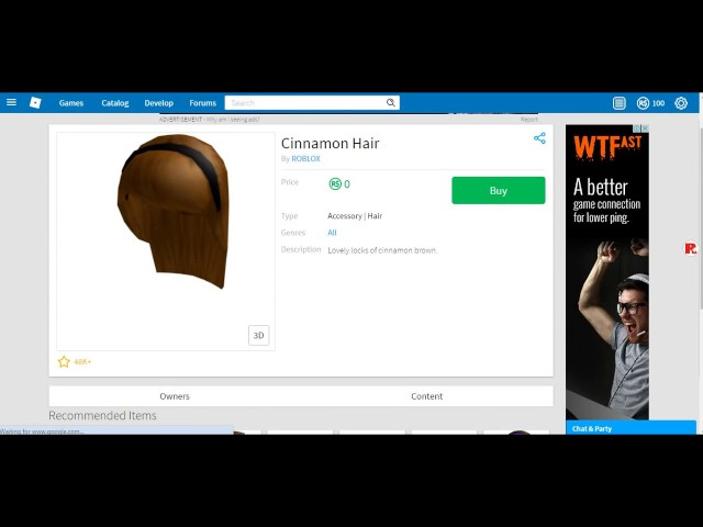 How To Get Free Clothes And Hair On Roblox