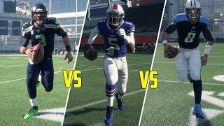 Who Is The Fastest Quarterback In Madden 18? Madden 18 Gameplay!