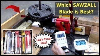 Which reciprocating saw blade is best?  Let