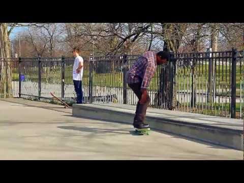 Wilson Skatepark, Chicago IL (HD)