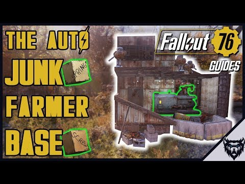Fallout 76 Base Building - The Auto XP Farm Base (fallout 76