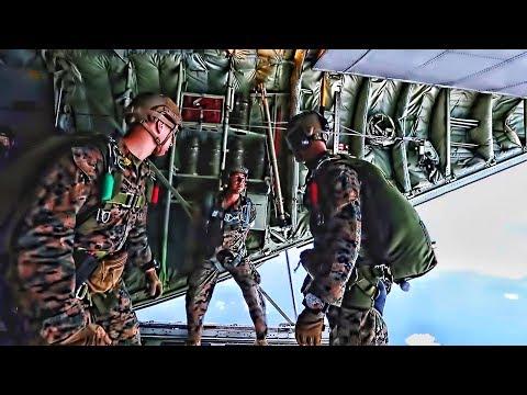 Force Recon Marines Parachute Training (2019)