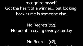 Dappy No Regrets Lyrics