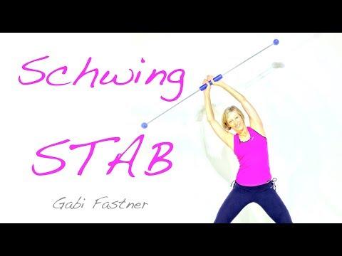 20 min. Figur-Workout mit dem Schwingstab