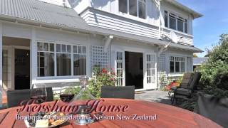 preview picture of video 'kershaw House Luxury Accommodation located in Nelson Abel Tasman Region New Zealand'