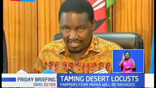 CS Kiunjuri: Post photos of insects for us to confirm for you if they are locusts