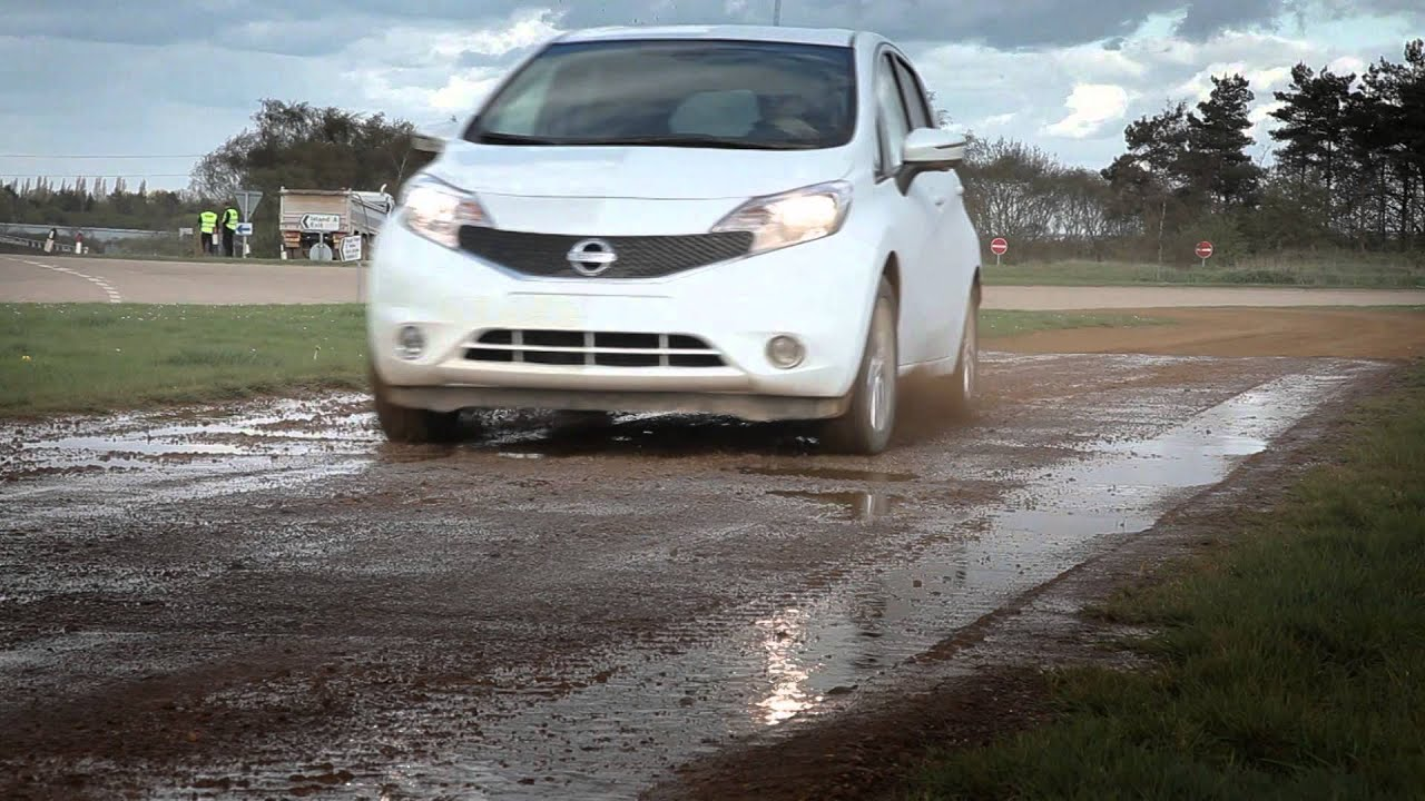 Nissan's Self-Cleaning Car Repels Mud Like Magic