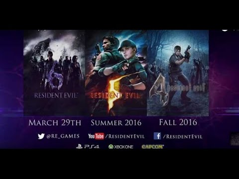 Видео № 1 из игры Resident Evil 6 Anthology [PS3]