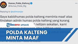 Admin Instagram DM Warganet Gara-gara Kata Mampus, Humas Polda Kalteng Minta Maaf Kami Tegur
