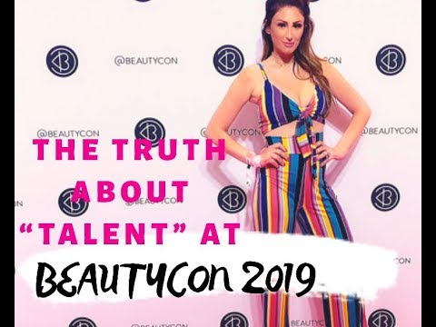 THE TRUTH ABOUT BEAUTYCON...GOING AS TALENT INSIDE VIP LOUNGE