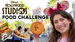 Ultimate Disney Hollywood Studios Food Challenge: Trying All Of The Disney Treats