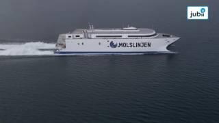 Danmarks nye superfærge er større end 14 parcelhuse tilsammen