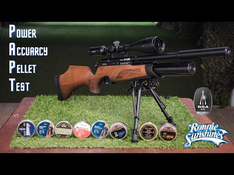 Bsa Air Rifle - Power & Accuracy Test - Ronnie Sunshines
